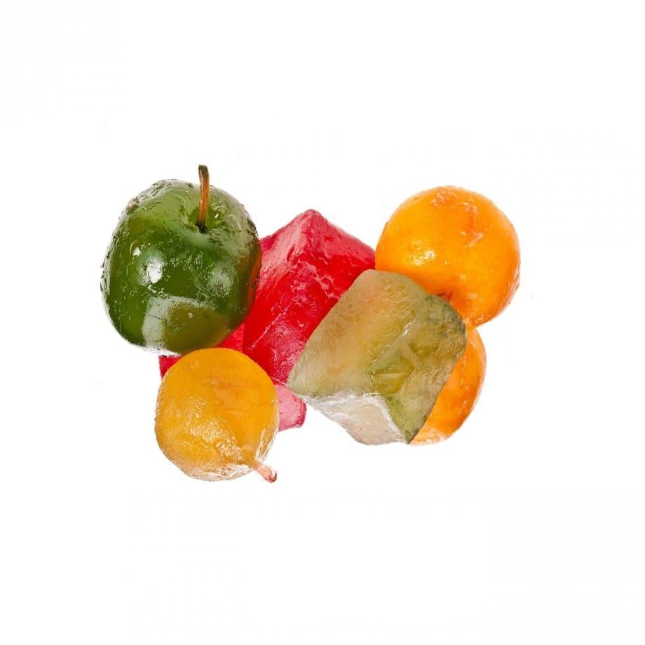 Cake Fruits Confits Vegan